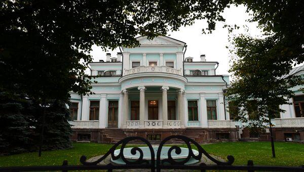 Штаб-квартира банка Российский кредит в Москве. Архивное фото