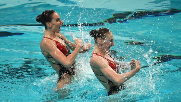 Чемпионат мира FINA 2015. Синхронное плавание. Дуэты. Техническая программа. Предварительный раунд