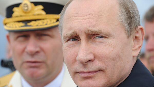 Президент России, верховный главнокомандующий ВС РФ Владимир Путин. Архивное фото