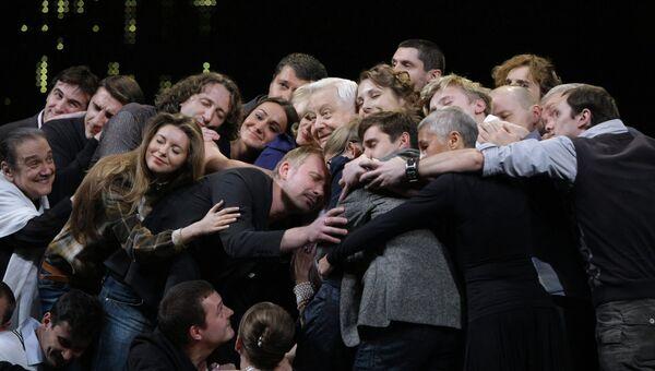 Юбилейный вечер Олега Табакова в МХТ имени А.П. Чехова