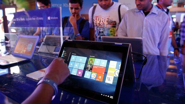 Пользователи тестируют Windows 10 в Нью-Дели, Индия