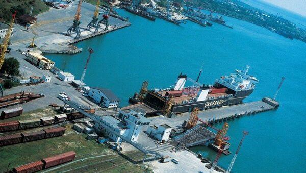 Ильичевский морской порт. Архивное фото