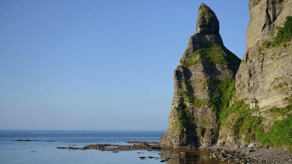 Мыс Камуи на острове Хоккайдо, Япония. Архивное фото