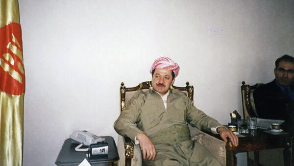 Лидер курдской автономии Северного Ирака Масуд Барзани. Архивное фото