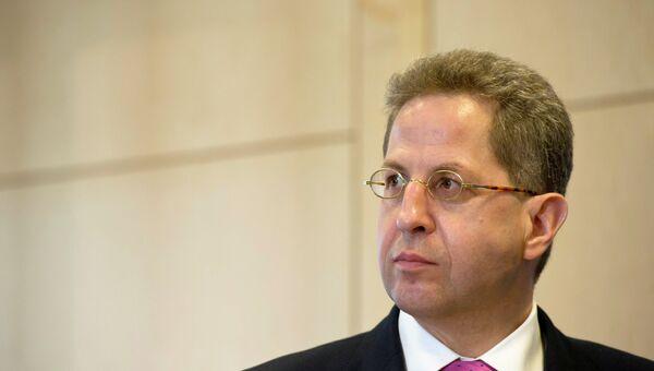 Глава Федеральной службы защиты конституции Ганс-Георг Маасен. Архивное фото