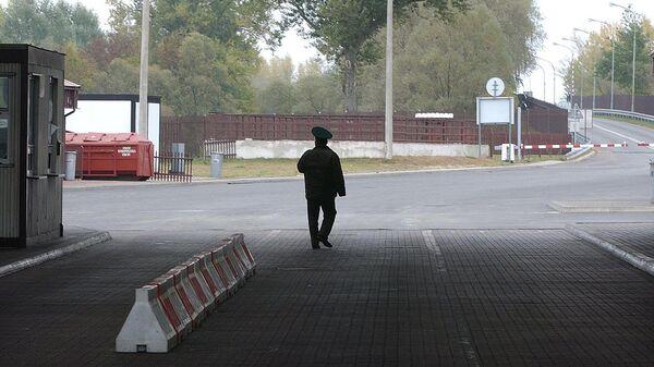Белорусская граница. Архивное фото