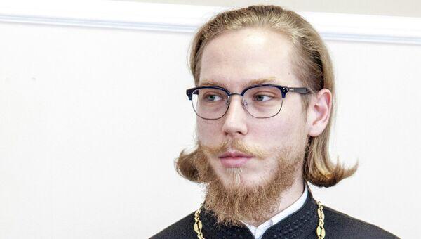 Председатель отдела религиозного образования и катехизации Московской городской епархии иеромонах Онисим Бамблевский