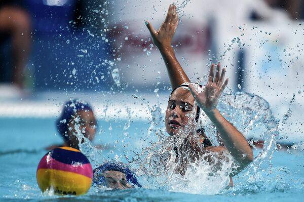 Чемпионат мира FINA 2015. Водное поло. Женщины. Матч США - Венгрия