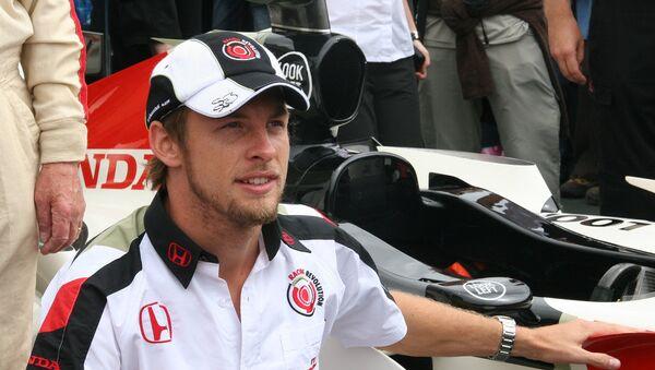 Пилот команды Формулы-1 Макларен Дженсон Баттон. Архивное фото