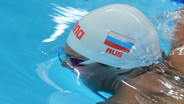 Александр Сухоруков  на XVI чемпионате мира по водным видам спорта в Казани