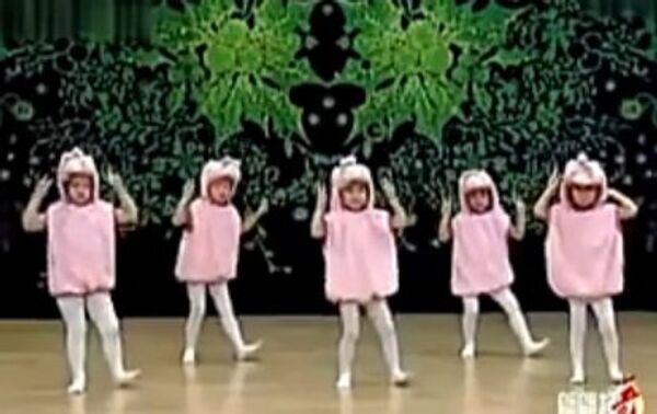 Танец маленьких утят по-корейски