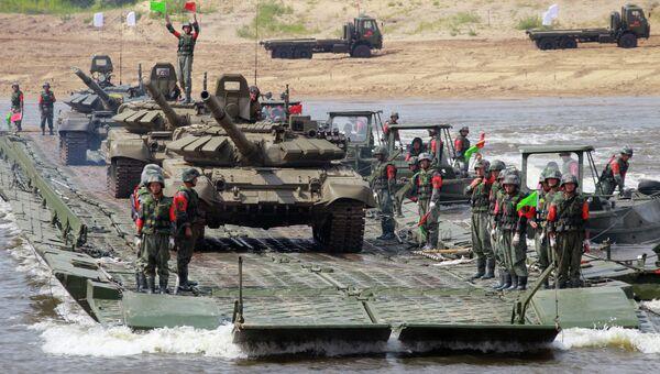 Состязания подразделений инженерных войск Открытая вода. Архивное фото