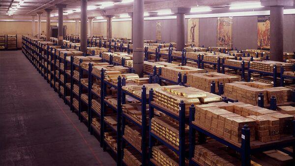 Золотое хранилище Банка Англии