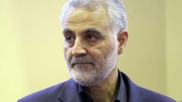 Глава спецподразделения Кудс иранского Корпуса стражей исламской революции (КСИР) Касем Сулеймани. Архивное фото