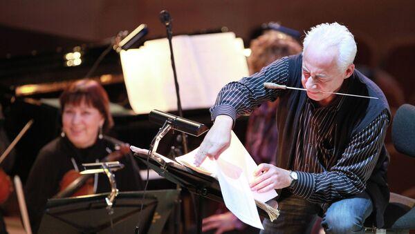 Владимир Спиваков на благотворительном концерте Признание в любви. Архивное фото.