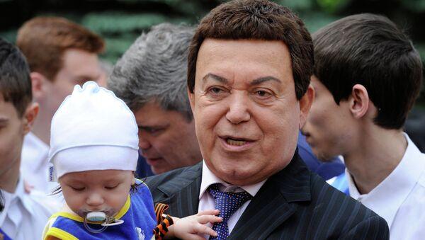 Депутат Госдумы РФ, певец Иосиф Кобзон посетил Донецк