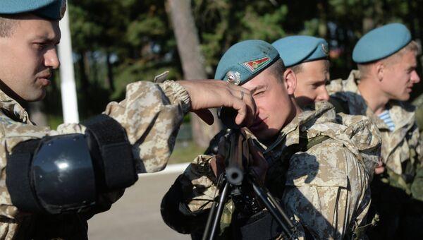 Совместные учения Коллективных сил оперативного реагирования ОДКБ Взаимодействие-2015