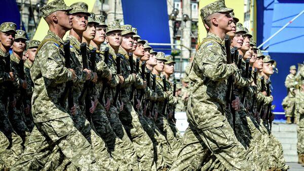 Военнослужащие ВСУ. Архивное фото.