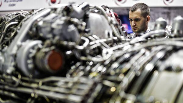 Экспонат стенда Объединенная двигателестроительная корпорация (ОДК), архивное фото