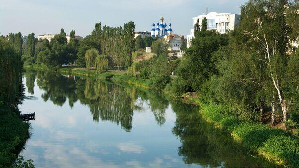 Река Цна в городе Тамбов. Архивное фото