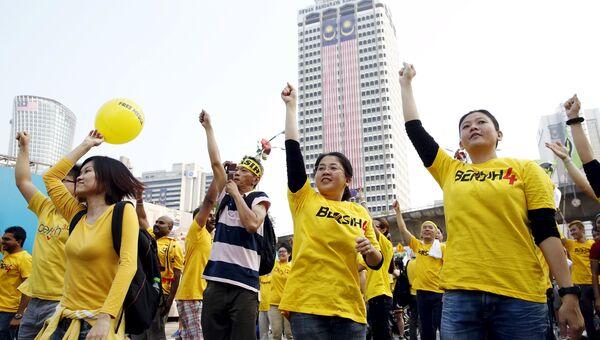 Протесты в Малайзии, 30 августа 2015 года