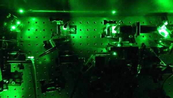 Установка по сжатию одиночных частиц света