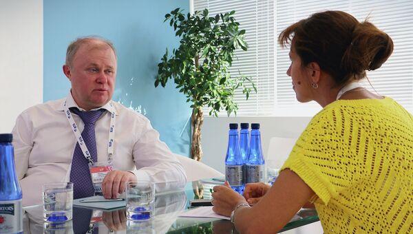 Генеральный директор холдинга Сергей Максин