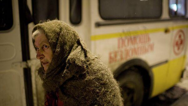 Работа автобуса православной службы Милосердие