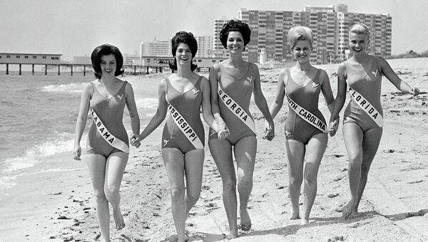 Участницы конкурса красоты Мисс США- 1966. Майами-Бич