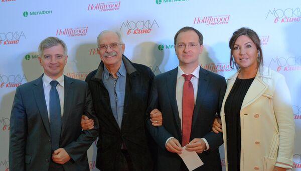 Открытие нового выставочного проекта Москва в кино