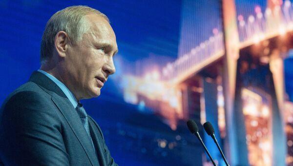 Владимир Путин. Архивное фото