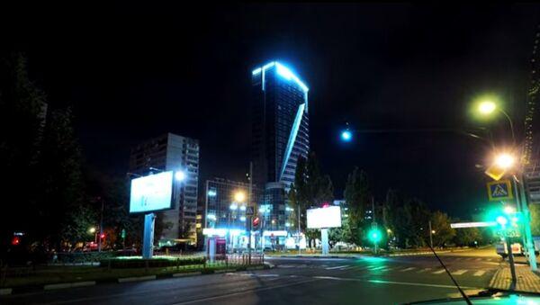 Ночное очарование подмосковного города