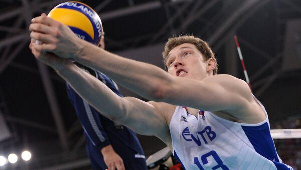 Игрок сборной России Дмитрий Мусэрский. Архивное фото