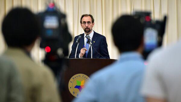 Верховный комиссар ООН по правам человека Зейд Раад Аль-Хуссейн. Архивное фото
