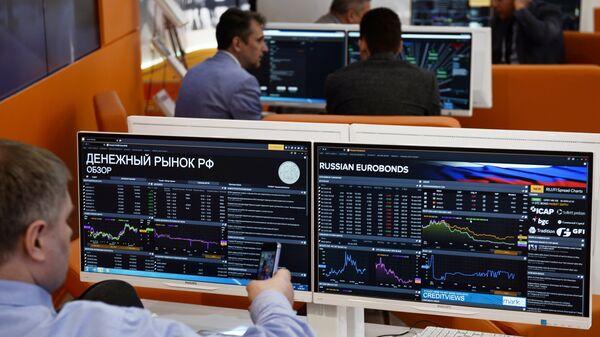 Графики фондовых индексов