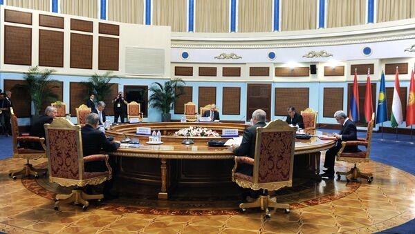 Рабочий визит президента РФ В.Путина в Таджикистан для участия в саммите ОДКБ