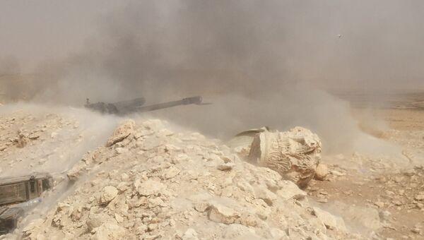 Сирийская армия отбила атаку боевиков близ Пальмиры