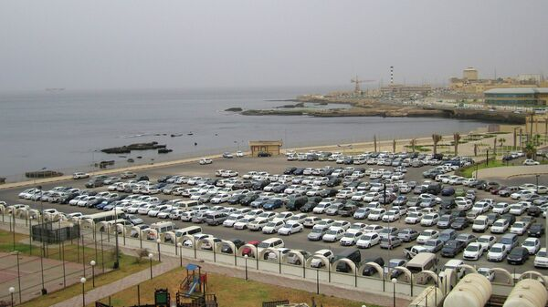 Вид города Триполи