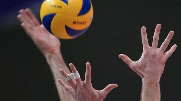 Волейбол. Архивное фото