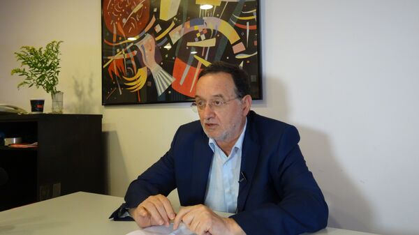 Лидер партии Народное единство Панайотис Лафазанис