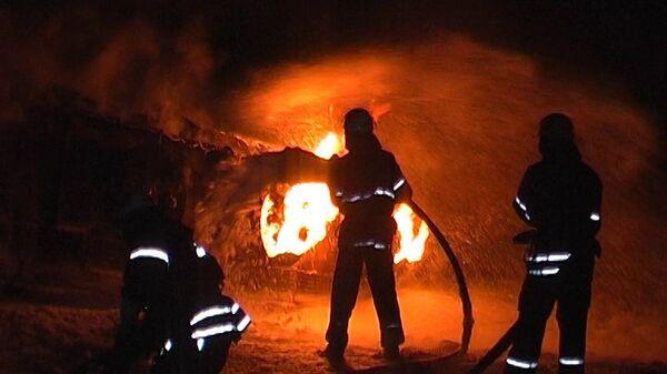 Пожар под Луганском. Архивное фото