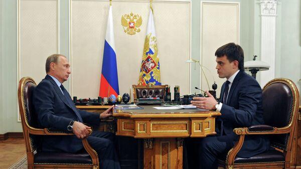 Рабочая встреча В.Путина с М.Котюковым