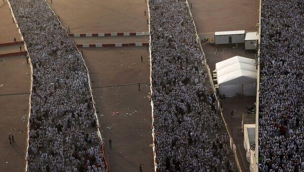 Паломники близ Мекки, Саудовская Аравия