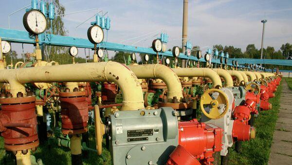 Газовое хранилище, Украина. Архивное фото