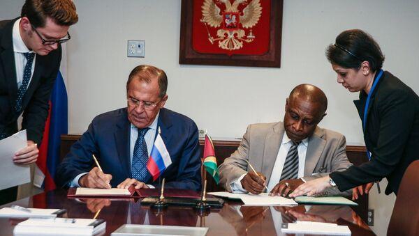 Министр иностранных дел РФ С.Лавров провел встречи в Нью-Йорке