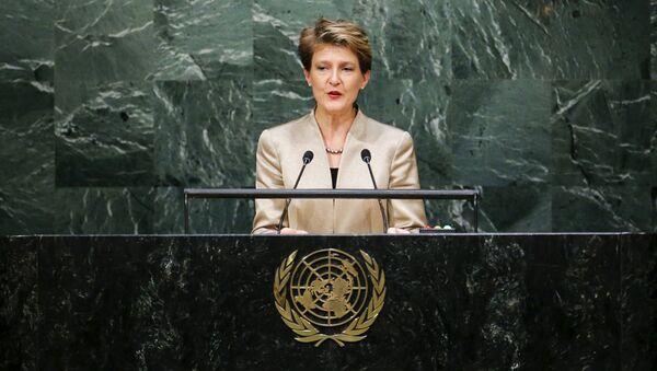 Президент Швейцарии Симонетта Соммаруга