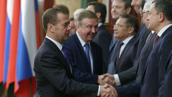 Заседание Совета министров Союзного государства России и Белоруссии. Архивное фото