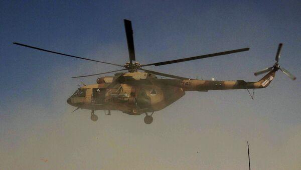 Вертолет сил безопасности Афганистана. Архивное фото