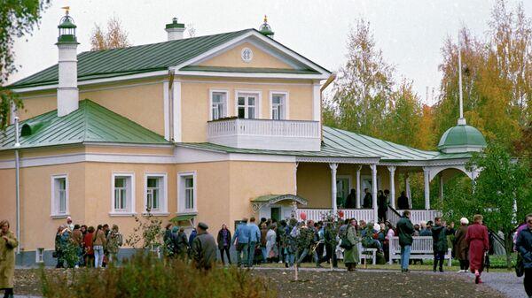 Литературный музей поэта Сергея Александровича Есенина в селе Константиново