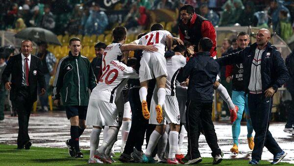 Футбол. Лига Европы. Матч Краснодар - Габала
